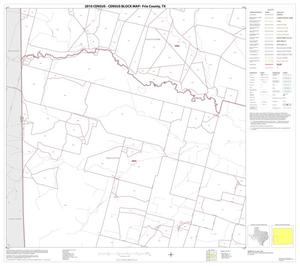 Primary view of object titled '2010 Census County Block Map: Frio County, Block 9'.