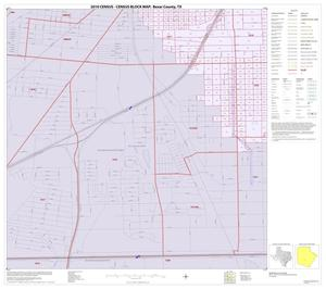 Primary view of object titled '2010 Census County Block Map: Bexar County, Inset F08'.