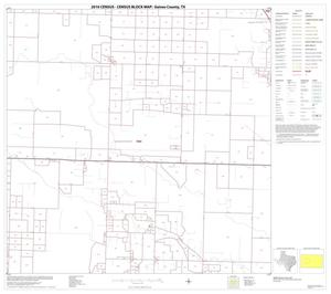 Primary view of object titled '2010 Census County Block Map: Gaines County, Block 7'.
