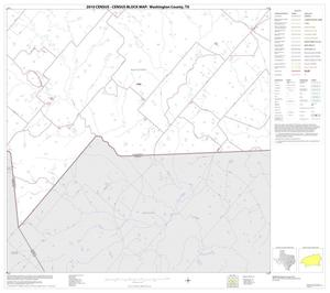Primary view of object titled '2010 Census County Block Map: Washington County, Block 30'.