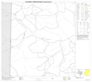 Primary view of object titled '2010 Census County Block Map: Terrell County, Block 5'.