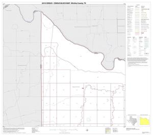 Primary view of object titled '2010 Census County Block Map: Wichita County, Block 1'.