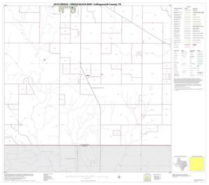 Primary view of object titled '2010 Census County Block Map: Collingsworth County, Block 15'.