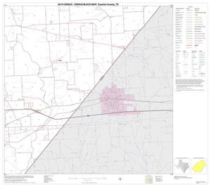 Primary view of object titled '2010 Census County Block Map: Fayette County, Block 17'.