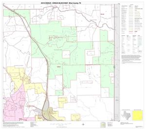 Primary view of object titled '2010 Census County Block Map: Wise County, Block 19'.