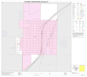 Primary view of object titled '2010 Census County Block Map: Hale County, Inset C01'.