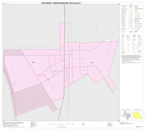 Primary view of object titled '2010 Census County Block Map: Hill County, Inset M01'.