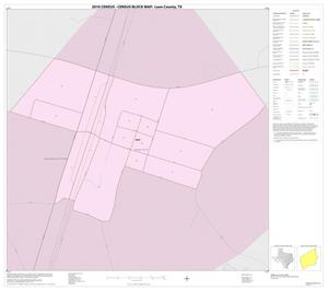 Primary view of object titled '2010 Census County Block Map: Leon County, Inset D01'.