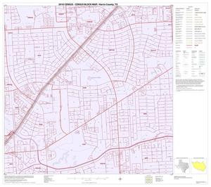 Primary view of object titled '2010 Census County Block Map: Harris County, Block 233'.