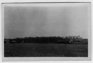Primary view of object titled '[A. Deussen House, Deussendale Farm, located west of Ponder]'.