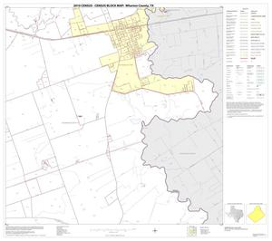 Primary view of object titled '2010 Census County Block Map: Wharton County, Block 6'.