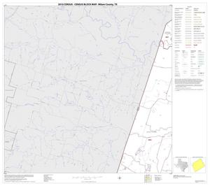 Primary view of object titled '2010 Census County Block Map: Milam County, Block 9'.