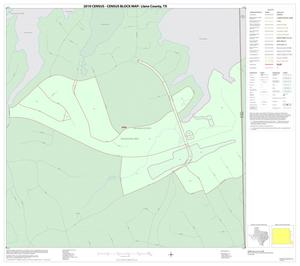 Primary view of object titled '2010 Census County Block Map: Llano County, Inset F01'.