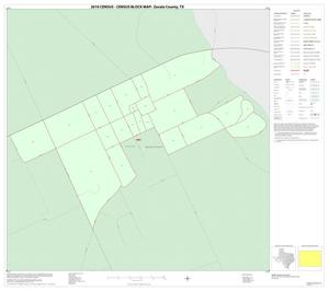 Primary view of object titled '2010 Census County Block Map: Zavala County, Inset B01'.