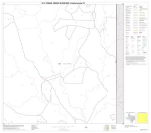 Primary view of object titled '2010 Census County Block Map: Crosby County, Block 12'.