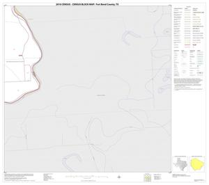 Primary view of object titled '2010 Census County Block Map: Fort Bend County, Block 61'.