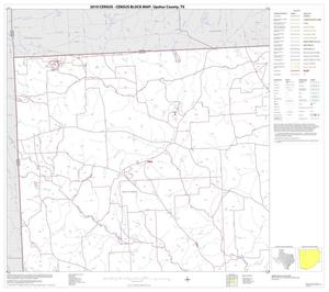 Primary view of object titled '2010 Census County Block Map: Upshur County, Block 1'.