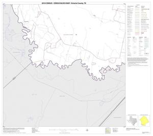 Primary view of object titled '2010 Census County Block Map: Victoria County, Block 18'.