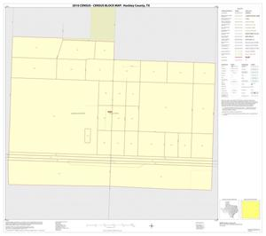 Primary view of object titled '2010 Census County Block Map: Hockley County, Inset E01'.