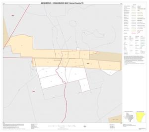 Primary view of object titled '2010 Census County Block Map: Burnet County, Inset D01'.