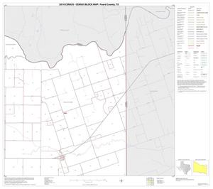 Primary view of object titled '2010 Census County Block Map: Foard County, Block 6'.