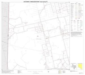 Primary view of object titled '2010 Census County Block Map: Crane County, Block 4'.