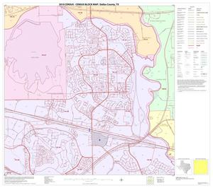 Primary view of object titled '2010 Census County Block Map: Dallas County, Block 11'.