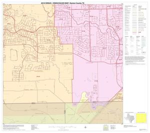 Primary view of object titled '2010 Census County Block Map: Denton County, Block 87'.