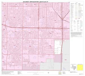 Primary view of object titled '2010 Census County Block Map: Lubbock County, Inset C07'.