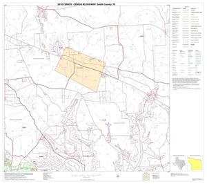 Primary view of object titled '2010 Census County Block Map: Smith County, Block 17'.