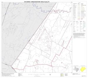 Primary view of object titled '2010 Census County Block Map: Wilson County, Block 10'.