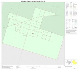 Primary view of object titled '2010 Census County Block Map: Comanche County, Inset D01'.