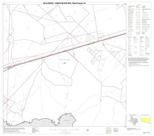 Primary view of object titled '2010 Census County Block Map: Ward County, Block 9'.