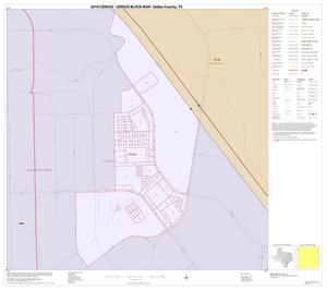 Primary view of object titled '2010 Census County Block Map: Dallas County, Inset A01'.