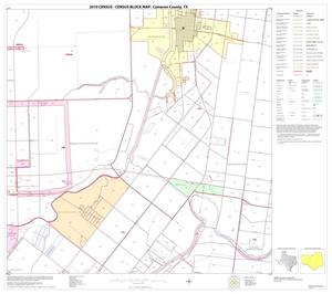 Primary view of object titled '2010 Census County Block Map: Cameron County, Block 25'.