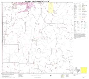 Primary view of object titled '2010 Census County Block Map: Wise County, Block 16'.