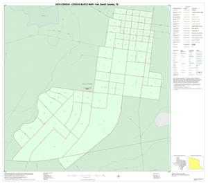Primary view of object titled '2010 Census County Block Map: Van Zandt County, Inset F01'.