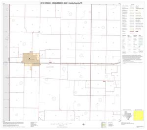Primary view of object titled '2010 Census County Block Map: Crosby County, Block 5'.