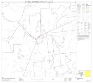 Primary view of object titled '2010 Census County Block Map: Palo Pinto County, Block 16'.