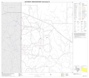 Primary view of object titled '2010 Census County Block Map: Foard County, Block 3'.