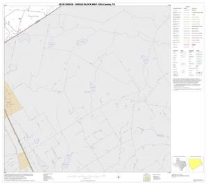 Primary view of object titled '2010 Census County Block Map: Ellis County, Block 28'.