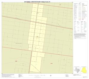 Primary view of object titled '2010 Census County Block Map: Hidalgo County, Inset N01'.