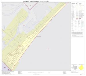Primary view of object titled '2010 Census County Block Map: Brazoria County, Inset W01'.