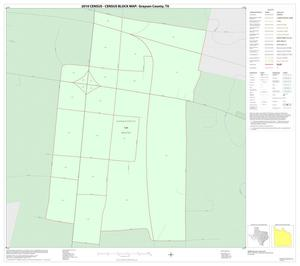 Primary view of object titled '2010 Census County Block Map: Grayson County, Inset K01'.
