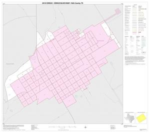 Primary view of object titled '2010 Census County Block Map: Falls County, Inset E01'.