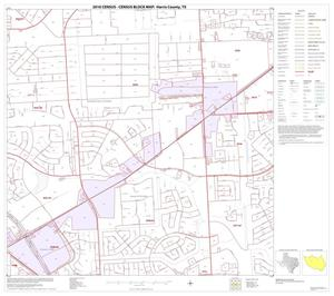 Primary view of object titled '2010 Census County Block Map: Harris County, Block 109'.