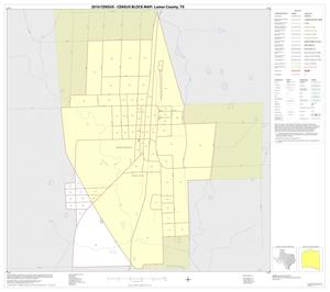 Primary view of object titled '2010 Census County Block Map: Lamar County, Inset G01'.