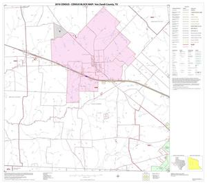 Primary view of object titled '2010 Census County Block Map: Van Zandt County, Block 11'.