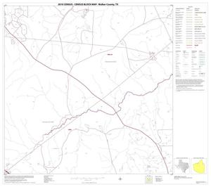 Primary view of object titled '2010 Census County Block Map: Walker County, Block 8'.