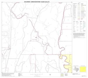 Primary view of object titled '2010 Census County Block Map: Uvalde County, Block 16'.